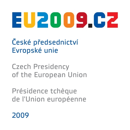 The logo of the 2009 Czech Presidency of the EU